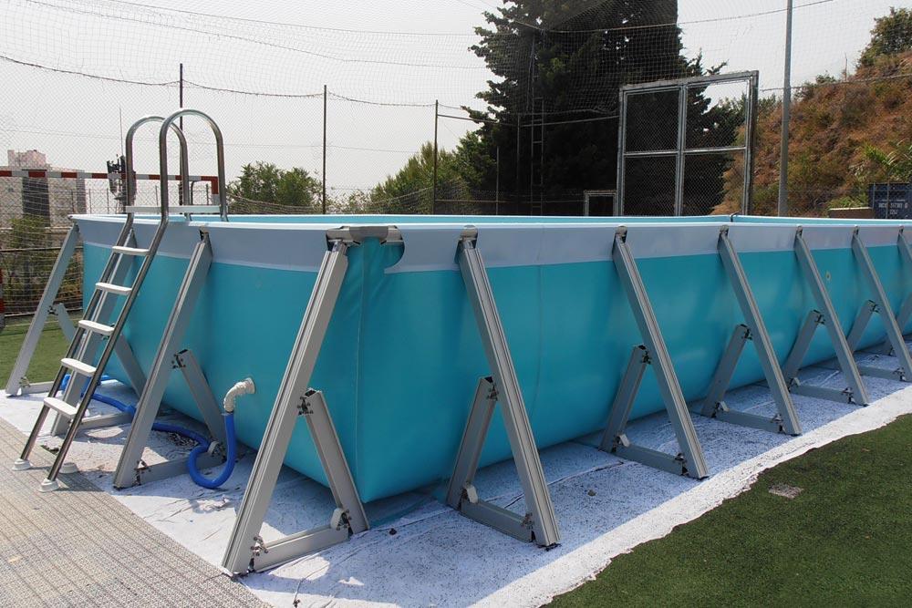 Soluciones profesionales para piscinas iaso for Vallas para piscinas desmontables